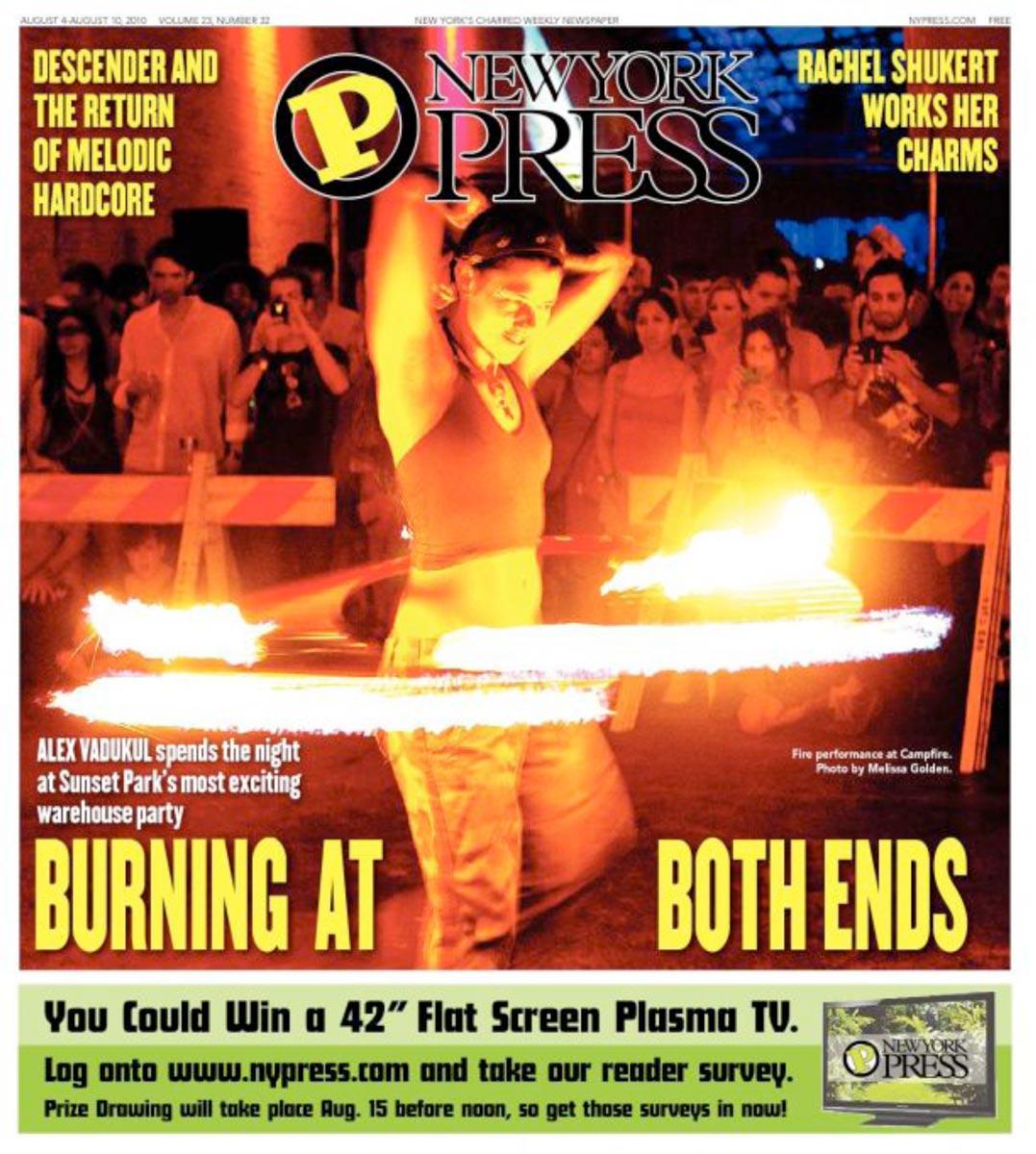 2010 NY Press Cover